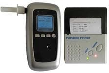 Breath Alcohol Tester With Wireless Printer
