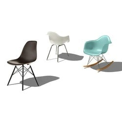 Molded Plastic Stacking Chairs