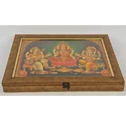 Wooden Hand Painted Gift Box