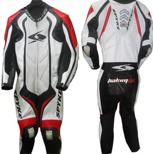 Leather Racing Motorcycle Suit