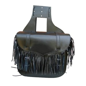 Throw Over Leather Saddle Bags