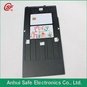 Contact Plastic White PVC Smart IC Chip Card