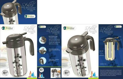 Stainless Steel Insulated Tea Flask