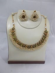 Gold Plated Party Wear Necklace