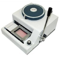 PVC Card Embossing Machines