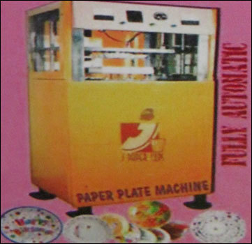 Fully Automatic Paper And Thermocol Paper Plate Machine