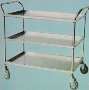 Service Trolley With Shelves