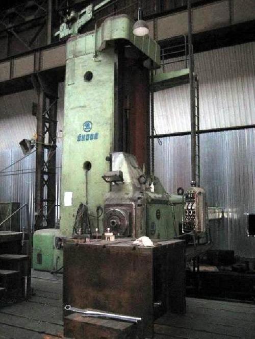 Skoda Floor Type Horizontal Boring Mill