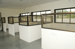 Cubicles From Cement Fiber Board