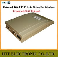 External 56L RS232 9Pin Voice Fax Modem