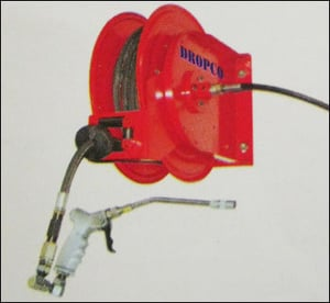 Hose Reel For Oil And Grease Lubrication