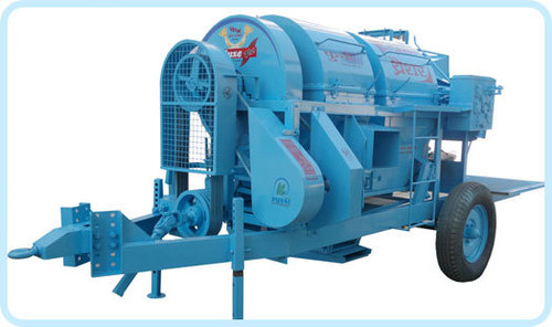 Harmba Thresher in   Tohana Dist-Fatehabad