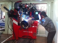 Pipe Automatic Root Pass, Fill and Cap Pass Welding Machine