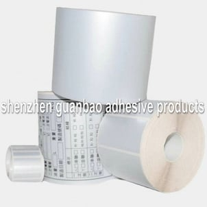 Adhesive Polyester Film Silver Matte