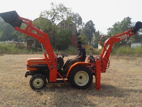 22 HP Three Cylinder-Four Wheel Drive Tractor