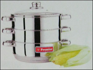 Multi Steamer With Glass Lid in  P.H. Road