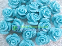 10mm Synthetic Blue Turquoise Beads