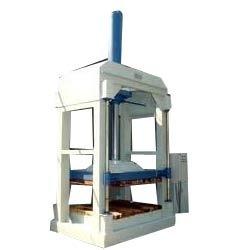 Efficient Hydraulic Baling Press