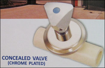 Cpvc Concealed Valve (Chrome Plated)