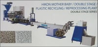 Plastic Recycling Plant (Double Stage Series)
