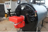Oil And Gas Fired Thermic Fluid Heaters