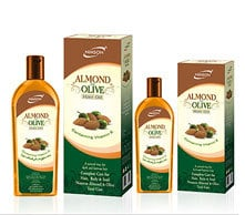 Almond And Olive Hair Oil