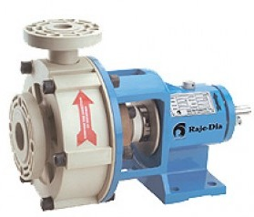 Solid Injection Moulded Pump