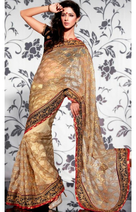 Bollywood Style Net Saree in  Laxmi Nagar