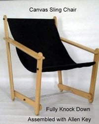 Canvas Sling Chair