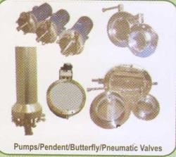 Pendent Pumps And Pneumatic Valves