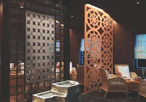 Durable MDF Partition Jaali