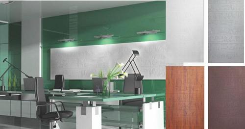 Glossy Finish MDF 3D Wall Texture