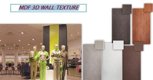 MDF 3D Wall Texture