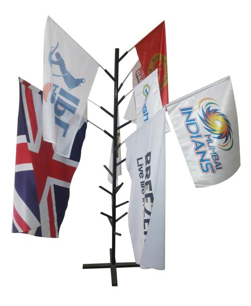 Digital Printed Hand Held Flags