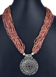 Beaded Necklaces With Pendant