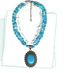 Colored Beaded Necklaces