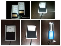 Solar LED and CFL Home Lighting Luminaries