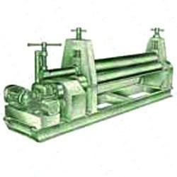 3 Roller Plate Bending Machine