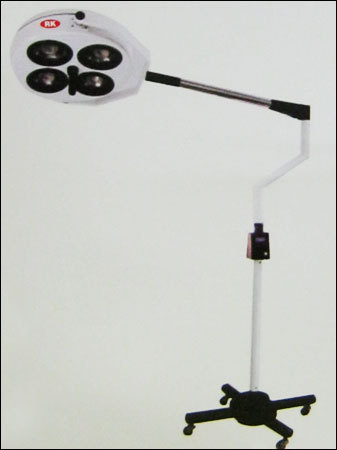 Shadowless Mobile Operation Lamp With 4 Rflectors