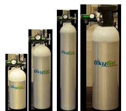 Portable Oxygen Cyliners