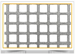 Perforated Sheets With Square Holes