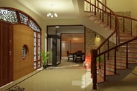 Residential House Interior Decoration Service