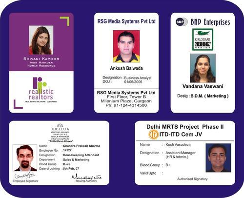 Plastic Identity Card