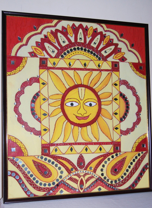 Attractive Lord Sun Wall Hanging