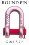 Forged Chain Round Pin Shackles