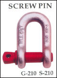 Forged Chain Shackles