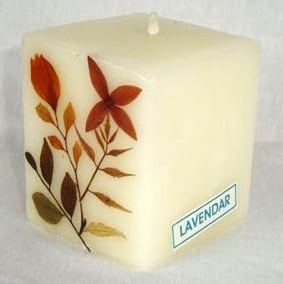 Lavender Aroma Candle
