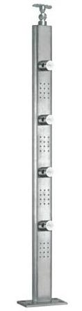Designer Steel Square Balusters