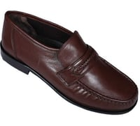 Leather Men Moccasin Shoes