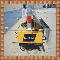 Portable Cement Plastering Machine for Construction